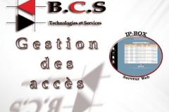 Première Brochure de gestion des acces