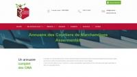 Réalisation du site web CNCMA - Courtiers Assermentés