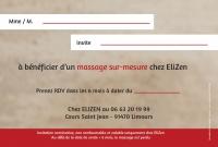 Bon Cadeau EliZen Limours 2018 verso