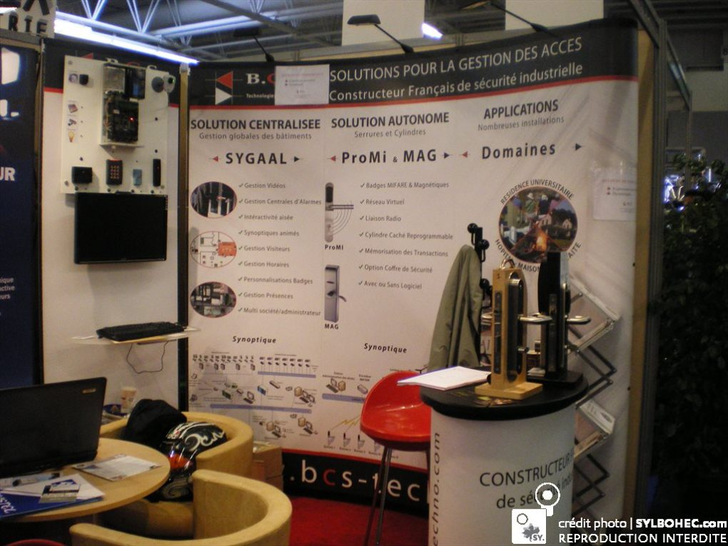 Photo du Stand Pliable de BCS Technologie