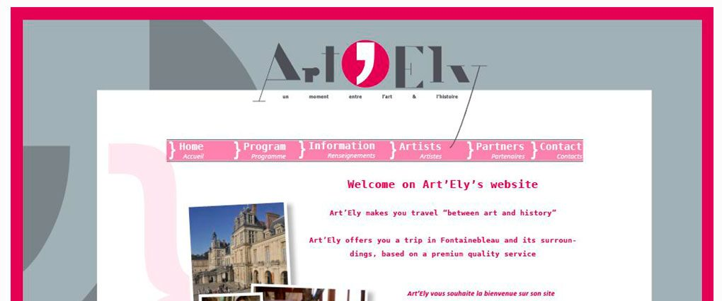 Site Web sur mesure Artely