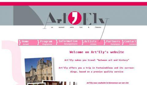 Site Web sur mesure Artely