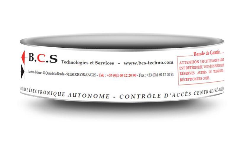 Ruban adhésif personnalisé BCS TECHNOLOGIE